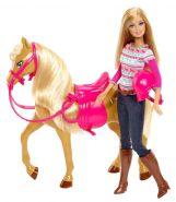 """Игровой набор """"Кукла Барби с лошадкой Тони"""" Mattel"""