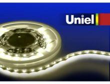 Лента светодиодная ULS-3528-60LED/m-8mm-IP33-DC12V-4,8W/m-3M-WW