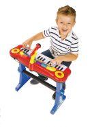 Simba Детский синтезатор на подставке, со стульчиком и микрофоном